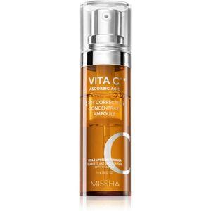 Missha Vita C Plus bőrélénkítő szérum C-vitaminnal a pigment foltok ellen 15 g kép