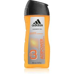 Adidas Adipower fürdőgél férfiaknak 3 az 1-ben 250 ml kép