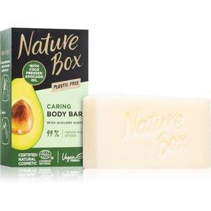 Nature Box Avocado tisztító kemény szappan 100 g kép
