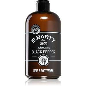Bettina Barty Black Pepper tusfürdő gél és sampon 2 in 1 500 ml kép