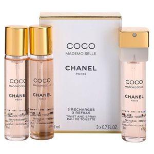 Chanel Coco Mademoiselle Eau de Toilette hölgyeknek 3x20 ml kép