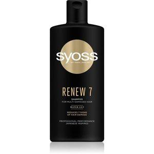Syoss Renew 7 intenzíven regeneráló sampon nagyon sérült hajra 440 ml kép