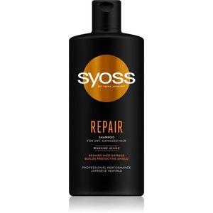 Syoss Repair regeneráló sampon száraz és sérült hajra 440 ml kép