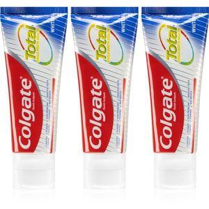 Colgate Total Whitening fehérítő fogkrém 3 x 75 ml kép
