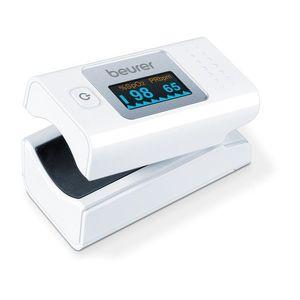 Véroxigénszint mérő - fehér - Méretet 13, 5 x 9 x 7 cm kép