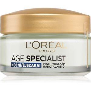 L'Oréal Paris Age Specialist 45+ ránctalanító, feszesítő éjszakai tápláló krém 50 ml kép