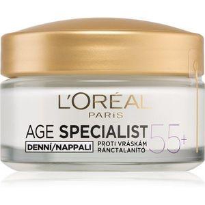 L'Oréal Paris Age Specialist 55+ ránctalanító, helyreállító nappali krém 50 ml kép