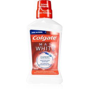 Colgate Max White Expert fogfehérítő szájvíz alkoholmentes 500 ml kép