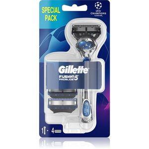 Gillette Fusion5 Proglide borotva + tartalék pengék 3 db kép