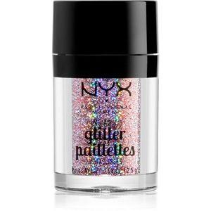 NYX Professional Makeup Glitter Goals Metálos csillámpor az arcra és a testre kép