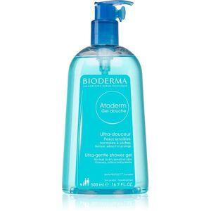 Bioderma Atoderm Shower Gel gyengéd tusfürdő gél száraz és érzékeny bőrre 500 ml kép