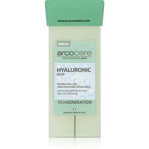Arcocere Professional Wax Hyaluronic Acid gyanta szőrtelenítéshez roll-on utántöltő 100 ml kép