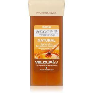 Arcocere Professional Wax Natural gyanta szőrtelenítéshez roll-on utántöltő 100 ml kép