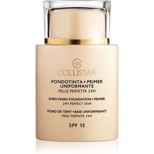 Collistar Foundation Perfect Skin make-up és alapozó bázis SPF 15 kép