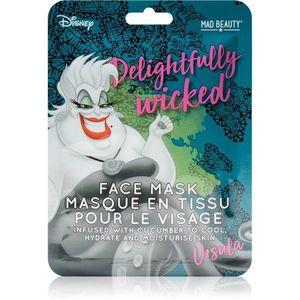 Mad Beauty Disney Villains Ursula hidratáló gézmaszk uborka kivonattal 25 ml kép