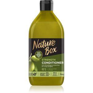 Nature Box Olive Oil védő kondicionáló hajtöredezés ellen 385 ml kép