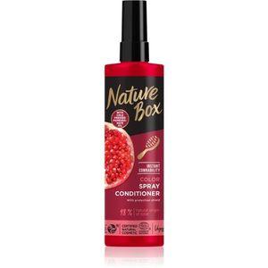 Nature Box Pomegranate Oil balzsam festett hajra 200 ml kép