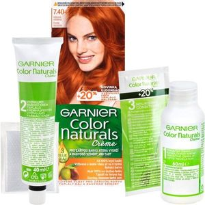 Garnier Color Naturals Creme hajfesték árnyalat 7.40 Copper Passion kép