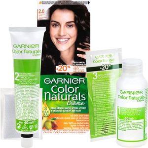 Garnier Color Naturals Creme hajfesték árnyalat 2.0 Soft Black kép