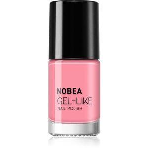 NOBEA Day-to-Day körömlakk géles hatással árnyalat Pink Rosé #N02 6 ml kép