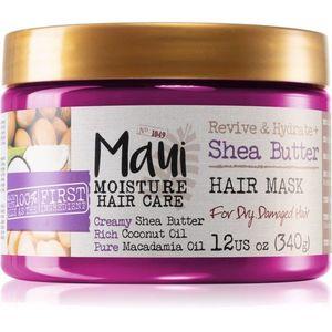 Maui Moisture Revive & Hydrate + Shea Butter hidratáló maszk száraz és sérült hajra 340 g kép