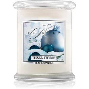 Kringle Candle Tinsel Thyme illatos gyertya 411 g kép