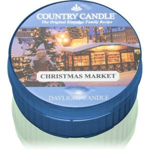 Country Candle Christmas Market teamécses 42 g kép