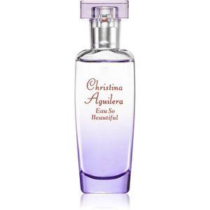 Christina Aguilera Eau So Beautiful Eau de Parfum hölgyeknek 30 ml kép