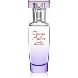 Christina Aguilera Eau So Beautiful Eau de Parfum hölgyeknek 15 ml kép