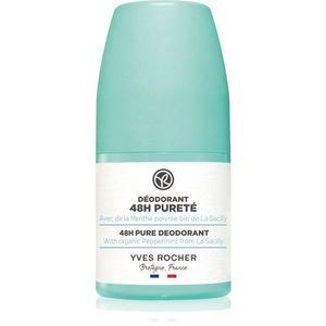 Yves Rocher 48 H Pure golyós dezodor roll - on 50 ml kép