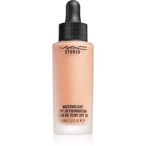 MAC Studio Waterweight SPF 30 Foundation könnyű hidratáló make-up SPF 30 árnyalat NW 30 ml kép