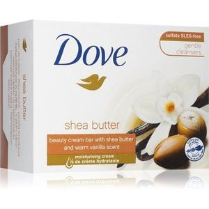 Dove Shea Butter & Vanilla tisztító kemény szappan 100 g kép