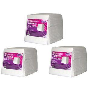 Csomag 3 x Egyszer Használatos Törölköző - Beautyfor Disposable Towles BIO-EKO, 50cm x 40cm, 100 db. kép