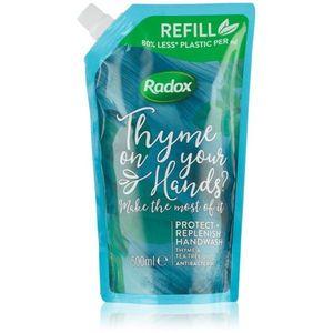 Radox Thyme on your hands? folyékony szappan antibakteriális adalékkal 500 ml kép