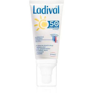 Ladival Allergic védő krémes gél nap által kiváltott allergiás reakciók ellen arcra, nyakra és dekoltázsra 50 ml kép