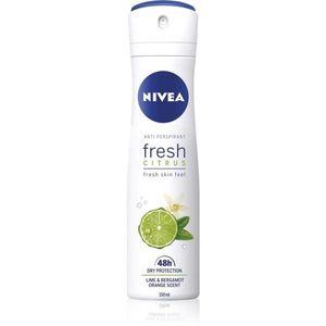 Nivea Fresh Citrus izzadásgátló spray 48h 150 ml kép