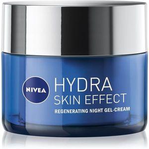 Nivea Hydra Skin Effect hidratáló géles krém éjszakára 50 ml kép