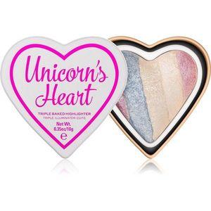 I Heart Revolution Unicorns Heart égetett élénkítő árnyalat Unicorn's Heart 10 g kép