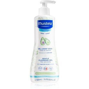 Mustela Bébé Bain tisztító test és haj gél gyermekeknek 500 ml kép