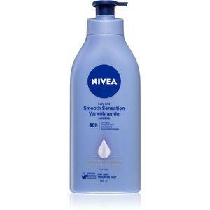 Nivea Smooth Sensation hidratáló testápoló tej száraz bőrre 625 ml kép