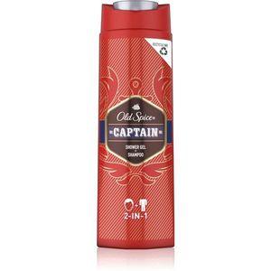 Old Spice Captain tusfürdő gél testre és hajra 400 ml kép
