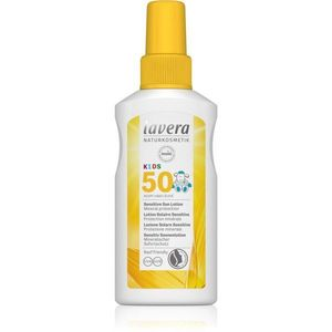 Lavera Sun Sensitiv Kids gyermek spray a napozáshoz SPF 50 100 ml kép