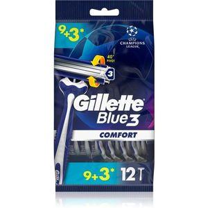 Gillette Blue 3 eldobható borotvák 12 db kép
