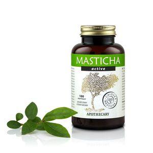 Masticha Terapia Az emésztőrendszer megfelelő működéséhez, Masticha Active - 100 tabletta Csomagolás: 100 tabletta kép