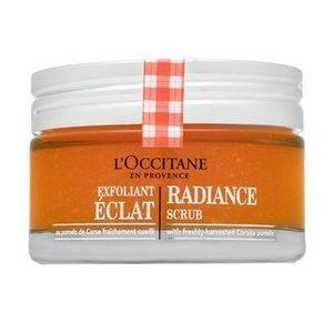 L'Occitane Exfoliance Radiance Scrub Corsican Pomelo bőrradír az egységes és világosabb arcbőrre 75 ml kép