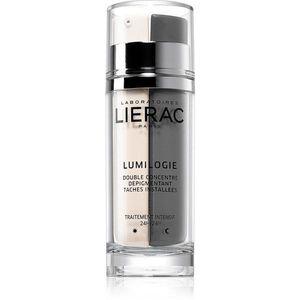 Lierac Lumilogie nappali és éjszakai kétfázisú bőrélénkítő koncentrátum a pigment foltok ellen 30 ml kép