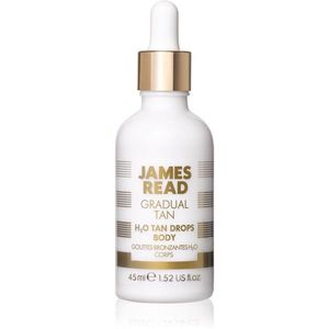 James Read Gradual Tan H2O Tan Drops önbarnító cseppek testre árnyalat Light/Medium 45 ml kép