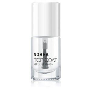 NOBEA Day-to-Day fedő és védő magas fényű körömlakk 6 ml kép