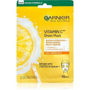 Garnier Skin Naturals hidratáló és élénkítő arcmaszk C vitamin 28 g kép