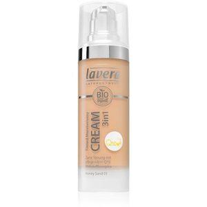 Lavera Q10 hidratáló krém tonizáló koenzim Q10 árnyalat 03 Honey Sand 30 ml kép